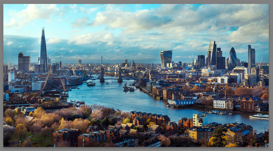 Find out more - Iconic London Cityscape