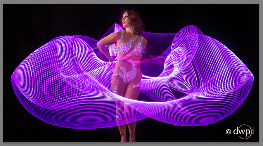 Find out more - LED Hula Hoop Studio Photography